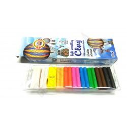 Plastelina lekka- pływająca 10 kolorów