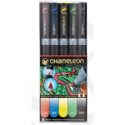 Markery CHAMELEON- Primary Tones Set