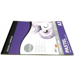 Blok Simply PASTEL A3 150g/16ark.
