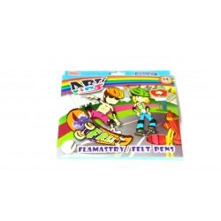Flamastry 18 kol. ARTI KIDS - pudełko