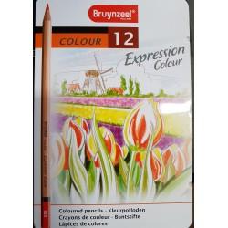 Kredki Bruynzeel 12 kolorów