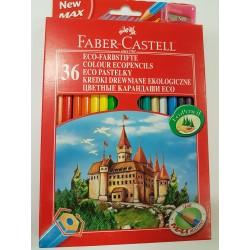 Kredki Faber-Castell 36szt - zamek