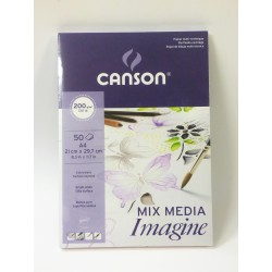 Blok Canson IMAGINE 200g/50kart - różne formaty