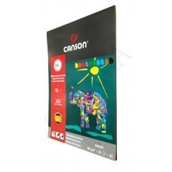 Blok techniczny-kolor A3 CANSON 180g/10ark.