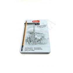 Ołówki Bruynzeel 12szt.