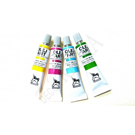 Farba olejna OLEJ-ART 20ml. - różne kolory