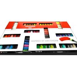 Farby akrylowe Amsterdam 72x20ml.