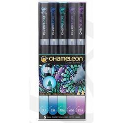 Markery CHAMELEON- Cool Tones Set