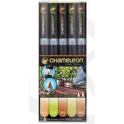 Markery CHAMELEON- Earth Tones Set