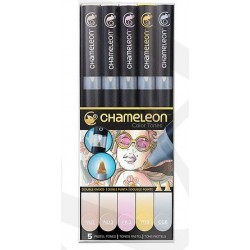 Markery CHAMELEON- Pastel Tones Set