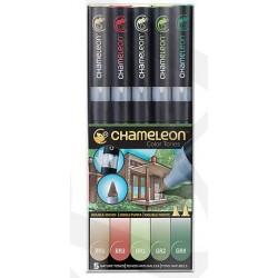 Markery CHAMELEON- Nature Tones Set
