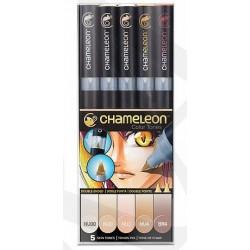 Markery CHAMELEON- Skin Tones Set