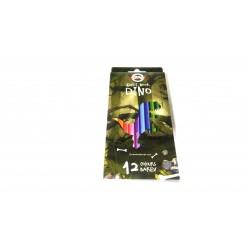 Kredki sześciokątne DINO 12 kolorów KOH-I-NOOR