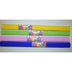 Bibuła marszczona 50x200cm - różne kolory